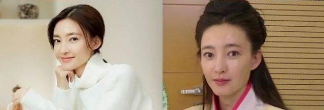 王麗坤卸妝一樣差別不大。圖/取自於微博
