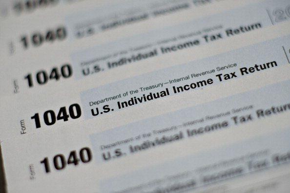國稅局因預算被砍,已使納稅人遭查稅的機率大減。(Getty Images)