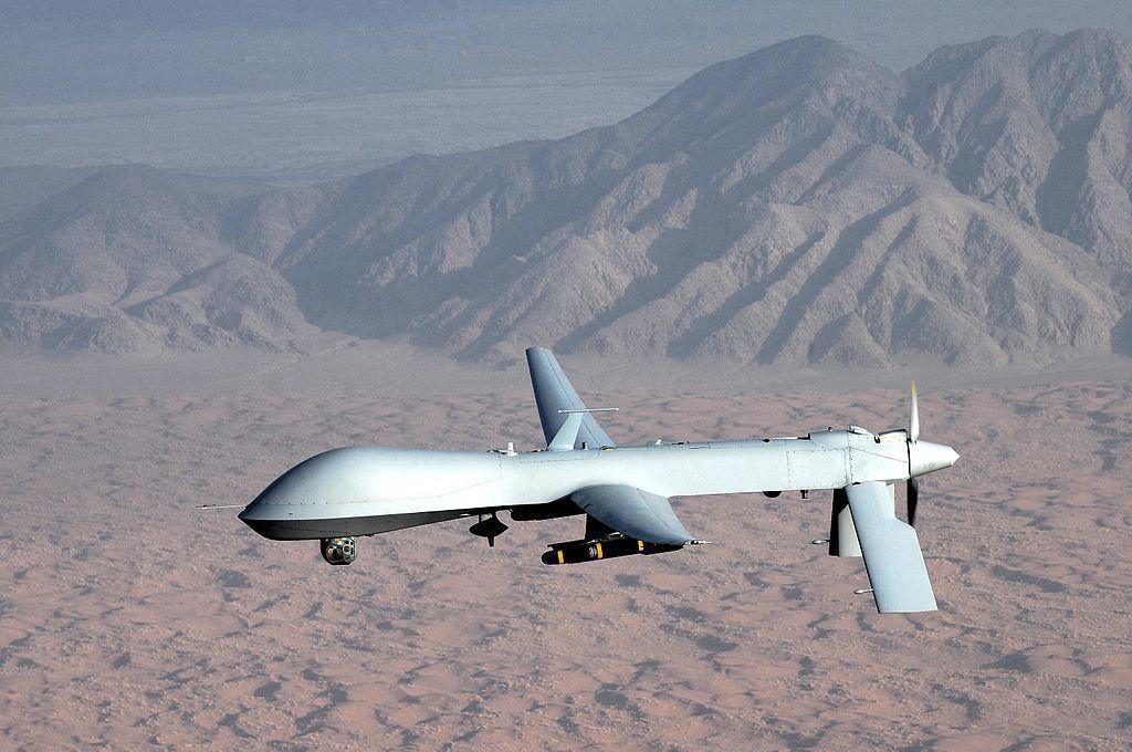 美軍MQ-1無人機。翻攝維基百科