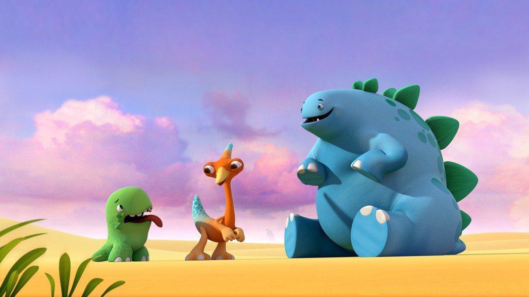 小恐龍樂園。圖/BBC Worldwide提供