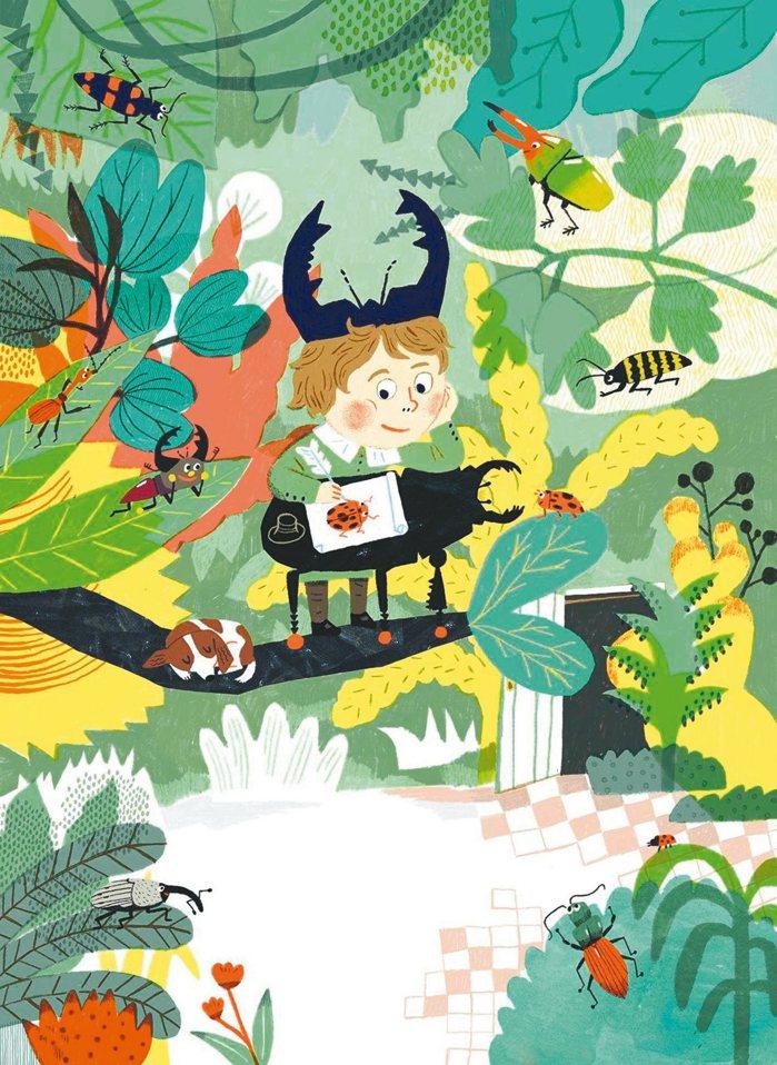 黃鈴馨(九子)插畫作品〈亞斯的國王新衣〉●「插畫界奧斯卡歡慶50周年——波隆...