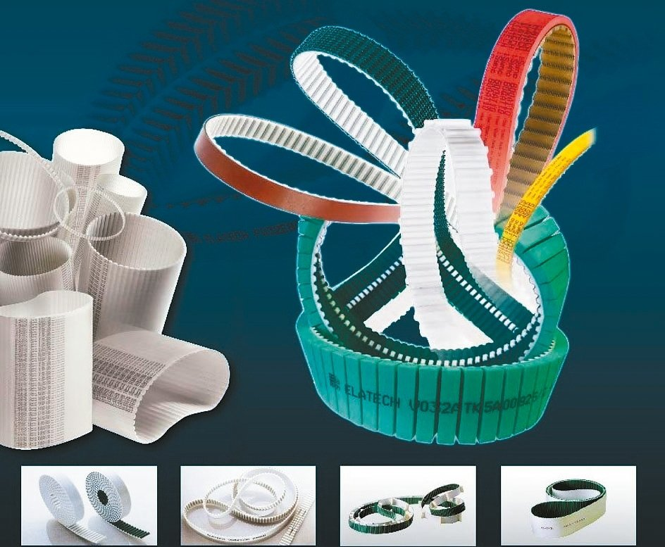 捷鋮公司代理義大利PU聚氨酯皮帶,可依自動化工業製程所需要求製作。 捷鋮/提供