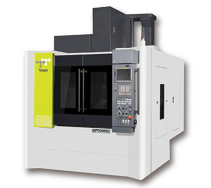 噴粉式雷射熔融複合加工設備。 東台精機/提供