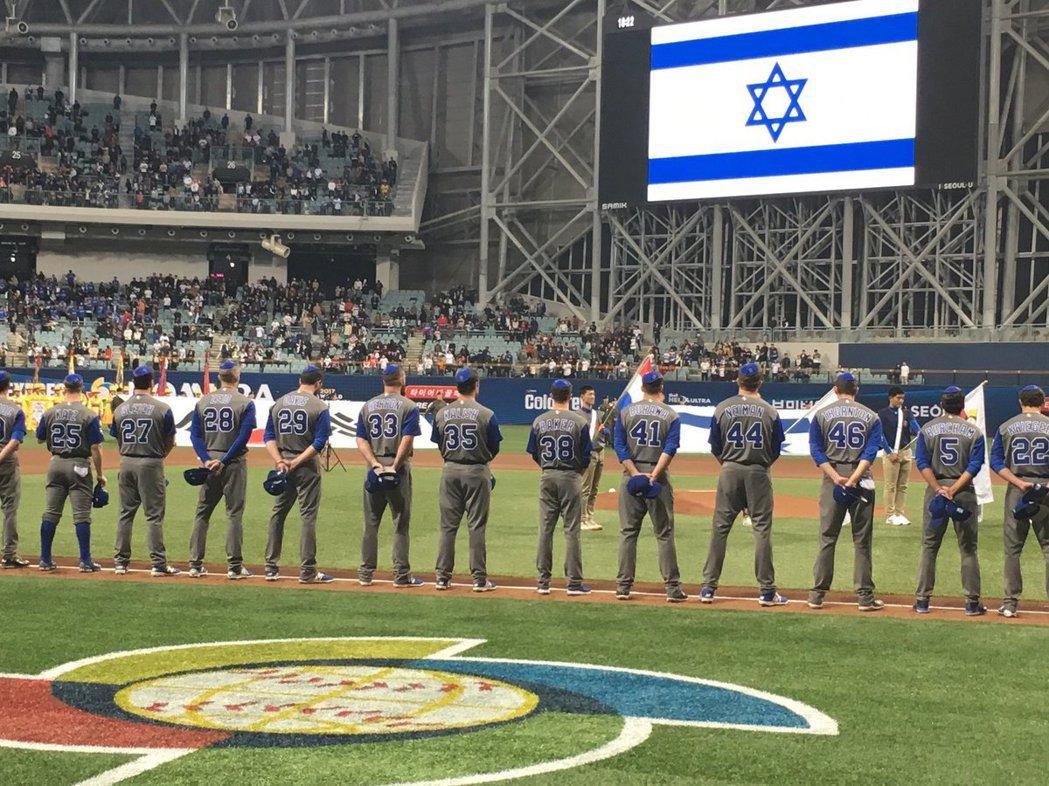 以色列神秘力量 把「基巴」小帽帶到球場