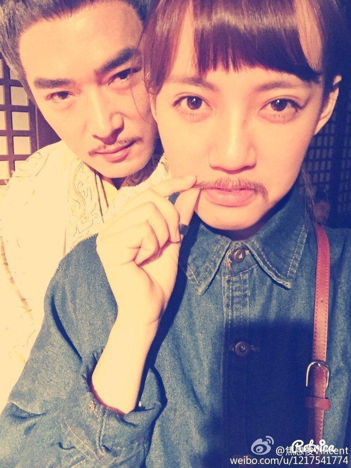 焦恩俊和女兒焦曼婷。圖/取自微博