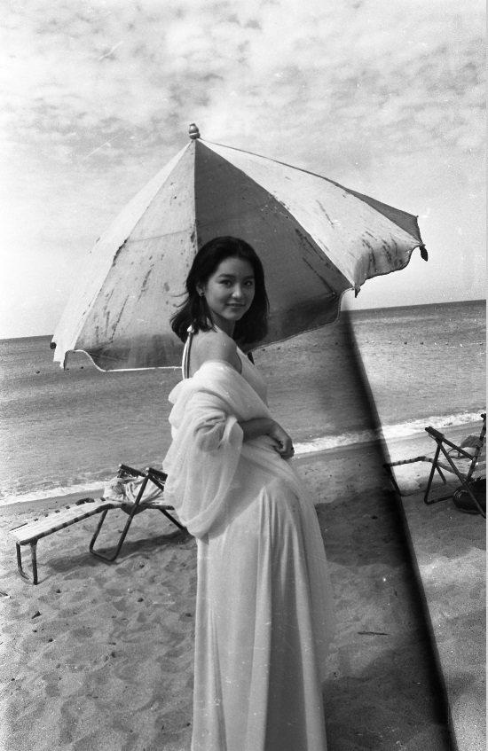 林青霞在「愛情長跑」造型美麗優雅。圖/報系資料照片