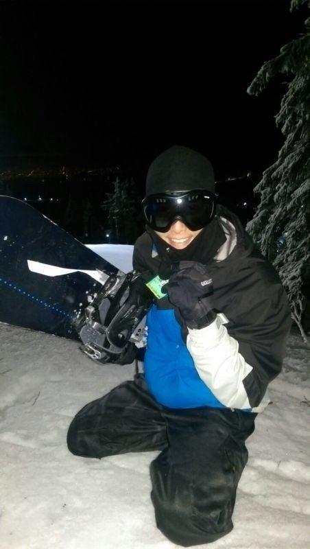 Evan私下是滑雪高手。圖/可米提供