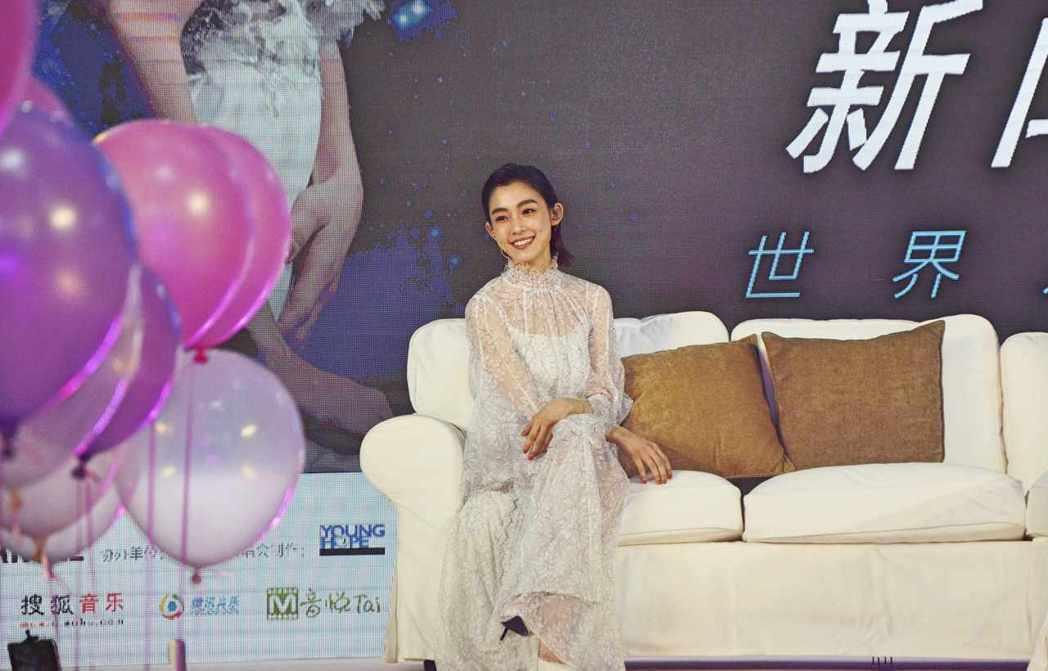 范瑋琪在北京發布演唱會訊息。圖/福茂提供