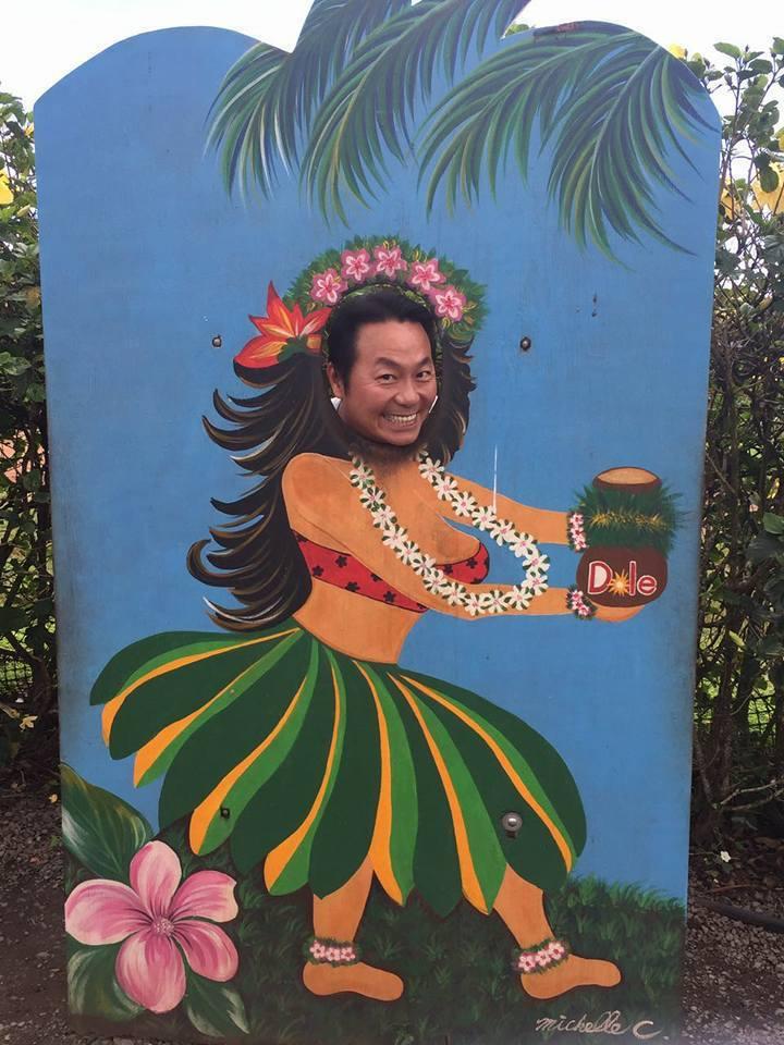 張克帆到夏威夷度蜜月。圖/摘自張克帆臉書