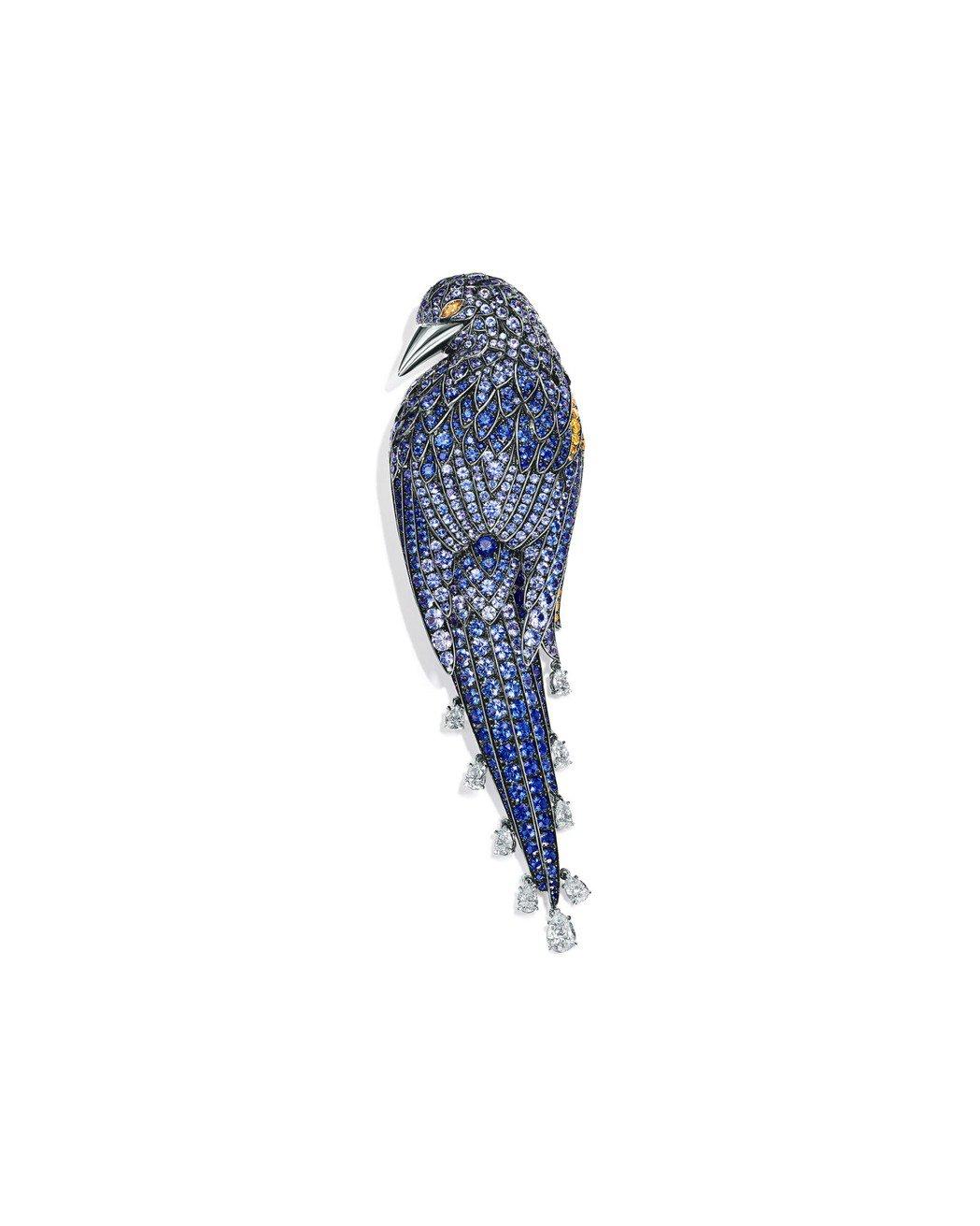 Tiffany 2017 Blue Book系列18K金鑲嵌蒙大拿藍寶石、藍寶石...