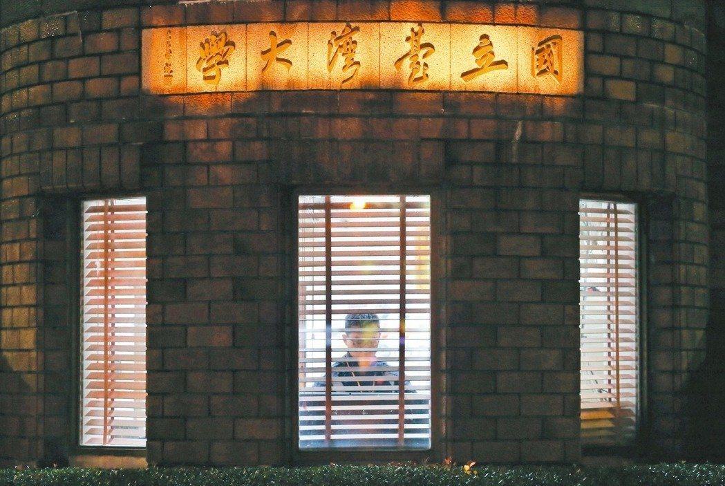 台大。記者王騰毅/攝影