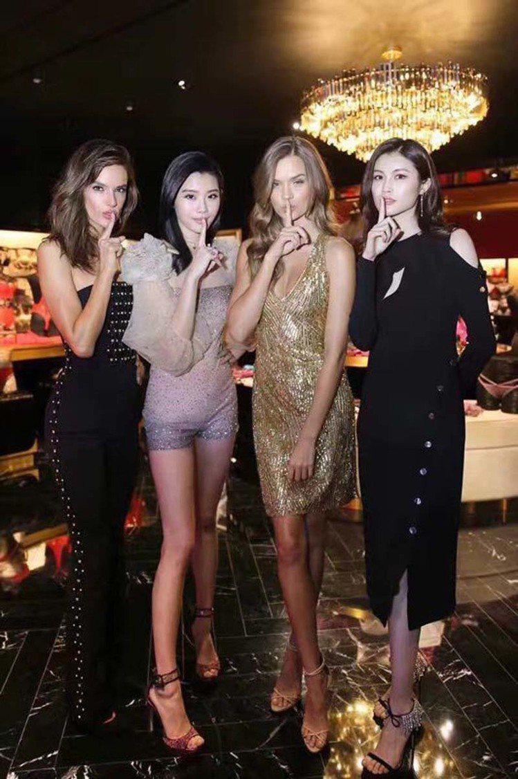 維多利亞的秘密(Victoria Secret)隆重登陸上海,昨晚舉行盛大的旗艦...