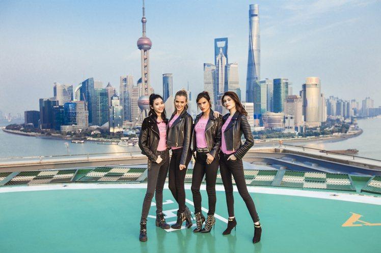 維多利亞的秘密(Victoria Secret)隆重登陸上海,超模奚夢瑤、Jos...