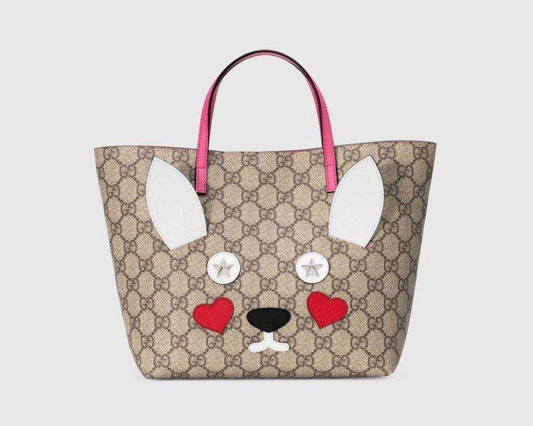 動物造型托特包,21,000元。圖/Gucci提供