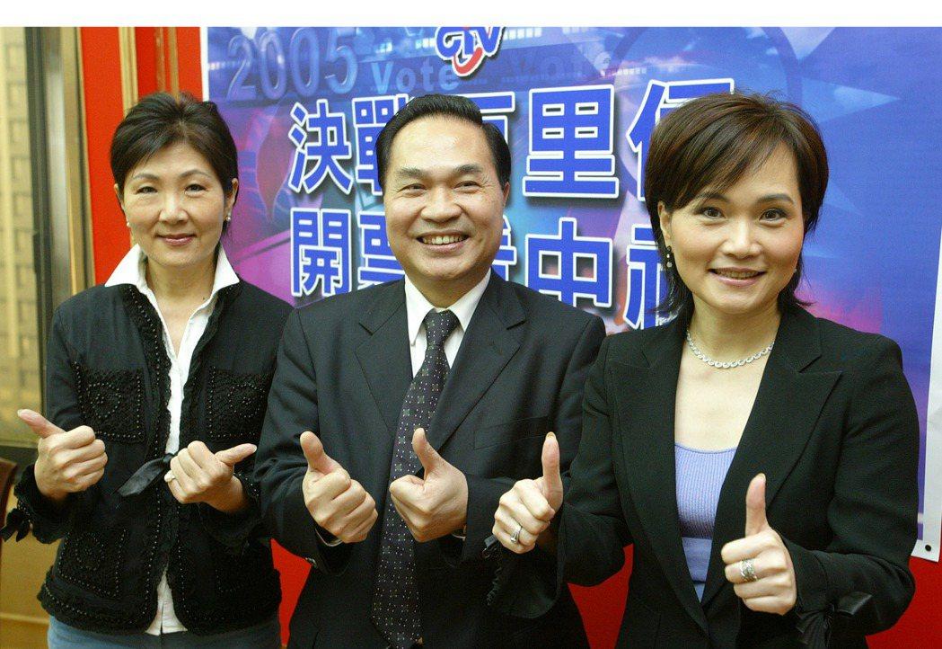 胡雪珠(左)擔任中視新任總經理。圖/本報資料照