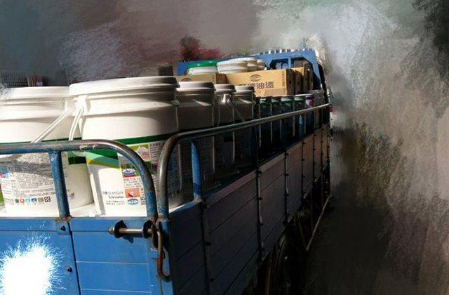 圖擷取自聯結車大貨車大客車拉拉隊運輸業照片影片資訊分享團。