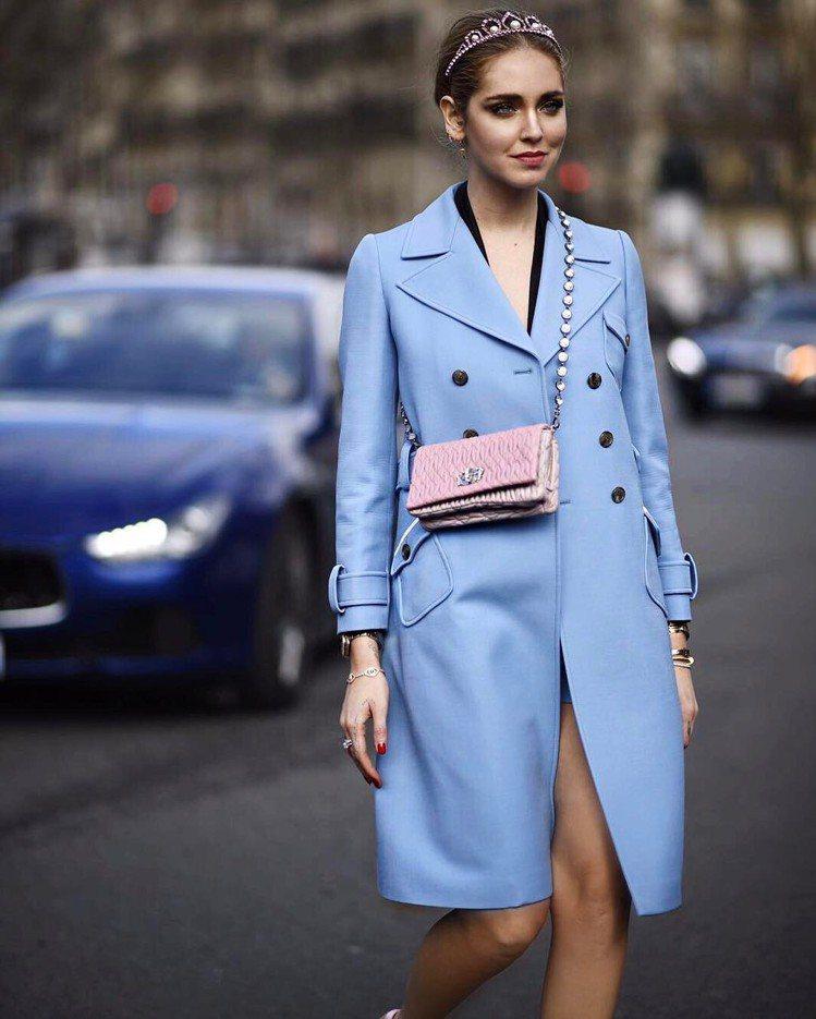 時尚部落客 Chiara Ferragni。圖/擷自instagram