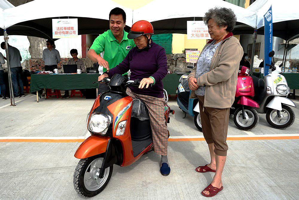 生態交通運具展覽,將提供多種小型低碳運具的試乘。 圖/高雄市政府交通局