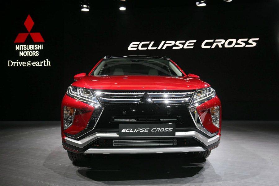 Mitsubishi Eclipse Cross 採用相同的家族設計語彙,像是 ...