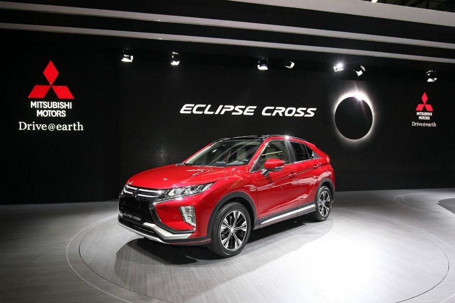 Mitusbishi 於日內瓦車展上正式發 2018 Eclipse Cross...