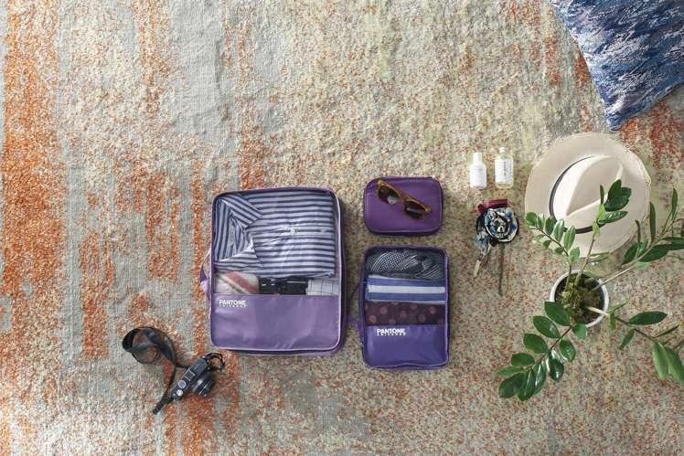 打包全世界PANTONE旅行三件組。圖/全家提供
