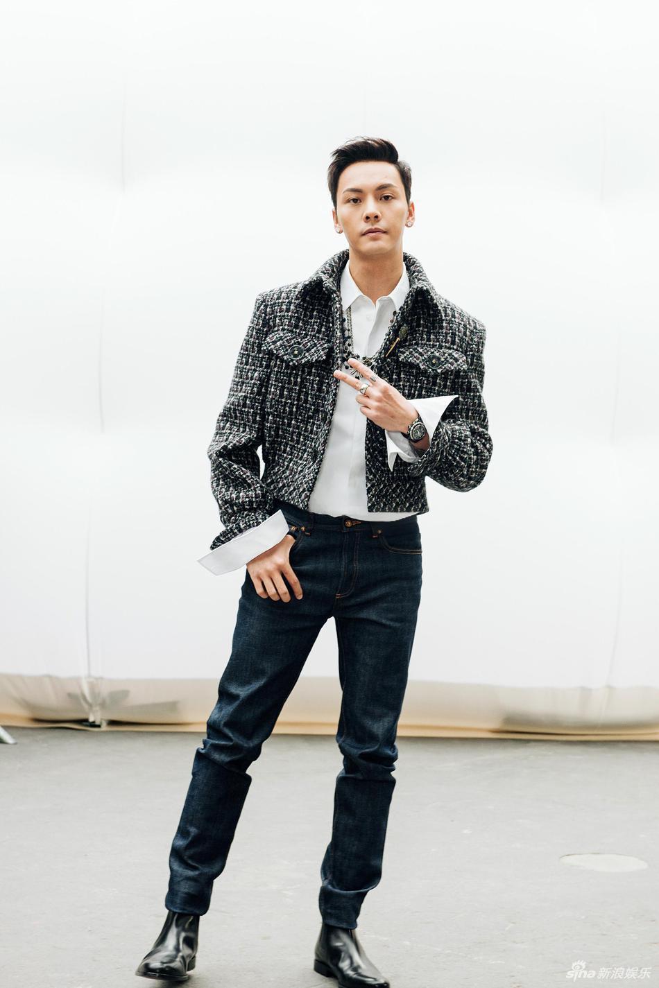 陳偉霆近年在大陸大受歡迎,是女性影迷心目中的男神。圖/摘自新浪娛樂