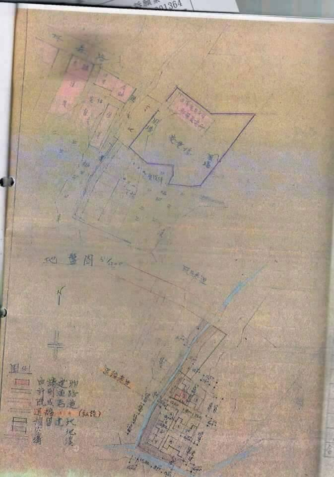 住戶提出地籍圖,想證明當時的通行權利。住戶/提供