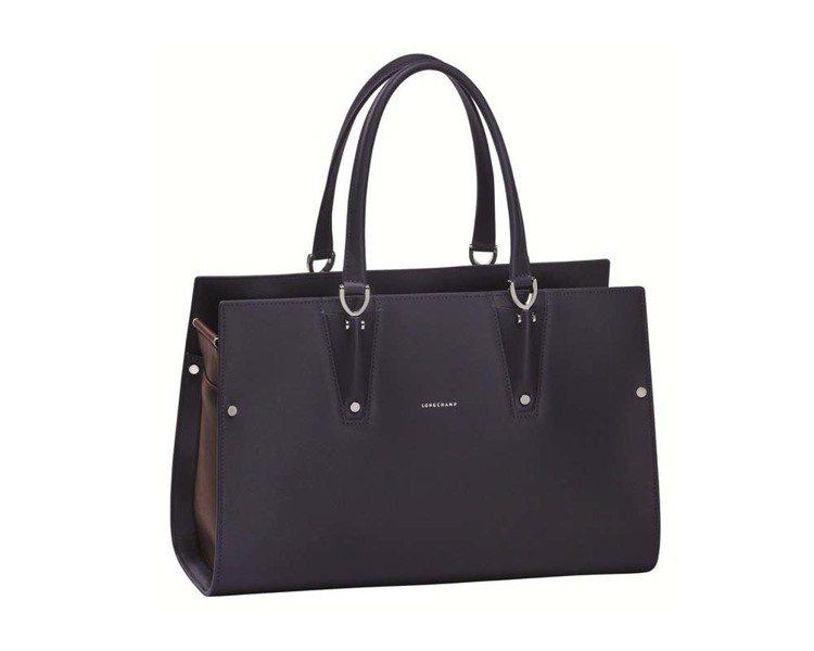 Longchamp的Paris Premier雙色拼接包,72,300元(小)、...