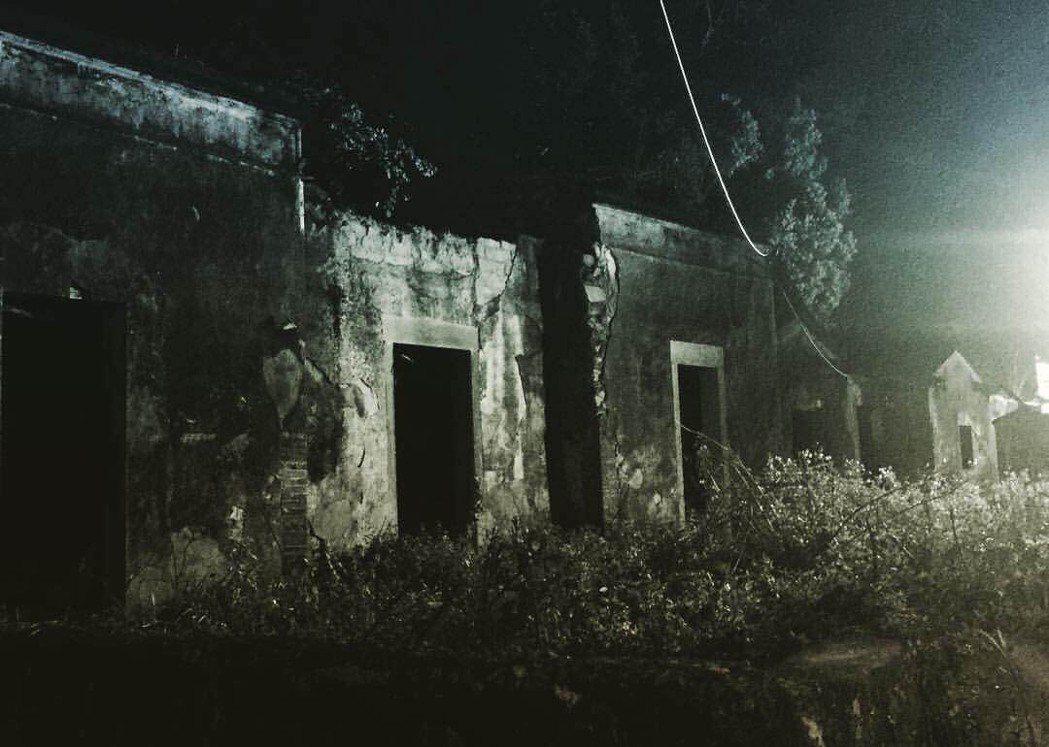 林明禎經紀人無意間拍到的靈異照片。圖/華映娛樂提供