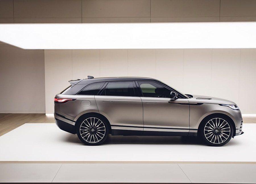 全新Range Rover Velar在倫敦設計博物館首演。 LAND ROVER提供