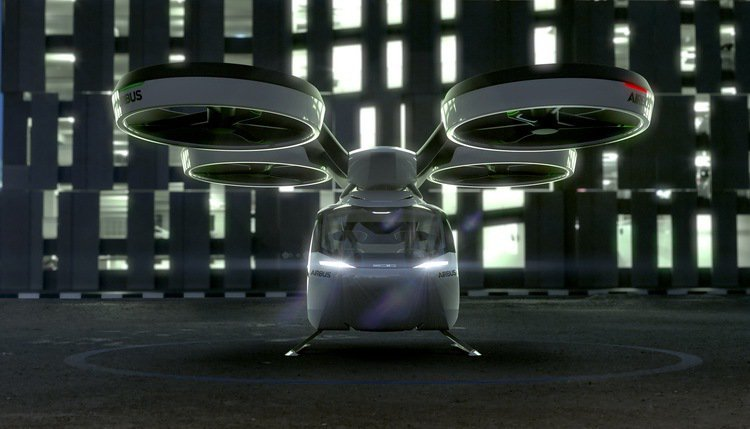POP.UP空中模組飛行器與座艙膠囊結合。 圖/Italdesign提供