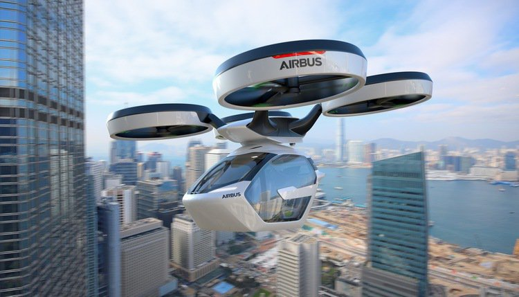 POP.UP飛行器由Airbus設計。 圖/Italdesign提供