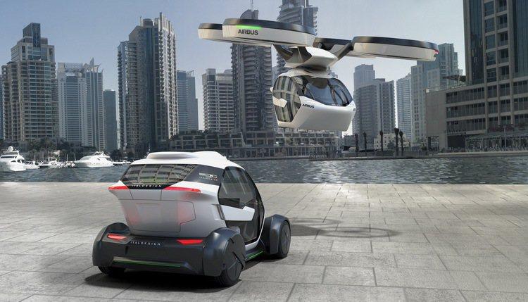 POP.UP為未來都會交通提供無限想像。 圖/Italdesign提供