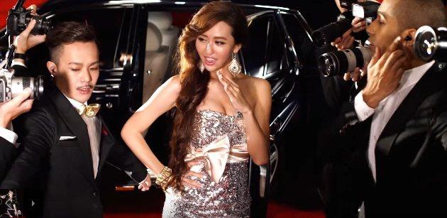 薔薔在蔡依林「PLAY我呸」MV中演出。圖/翻攝自YoutTube