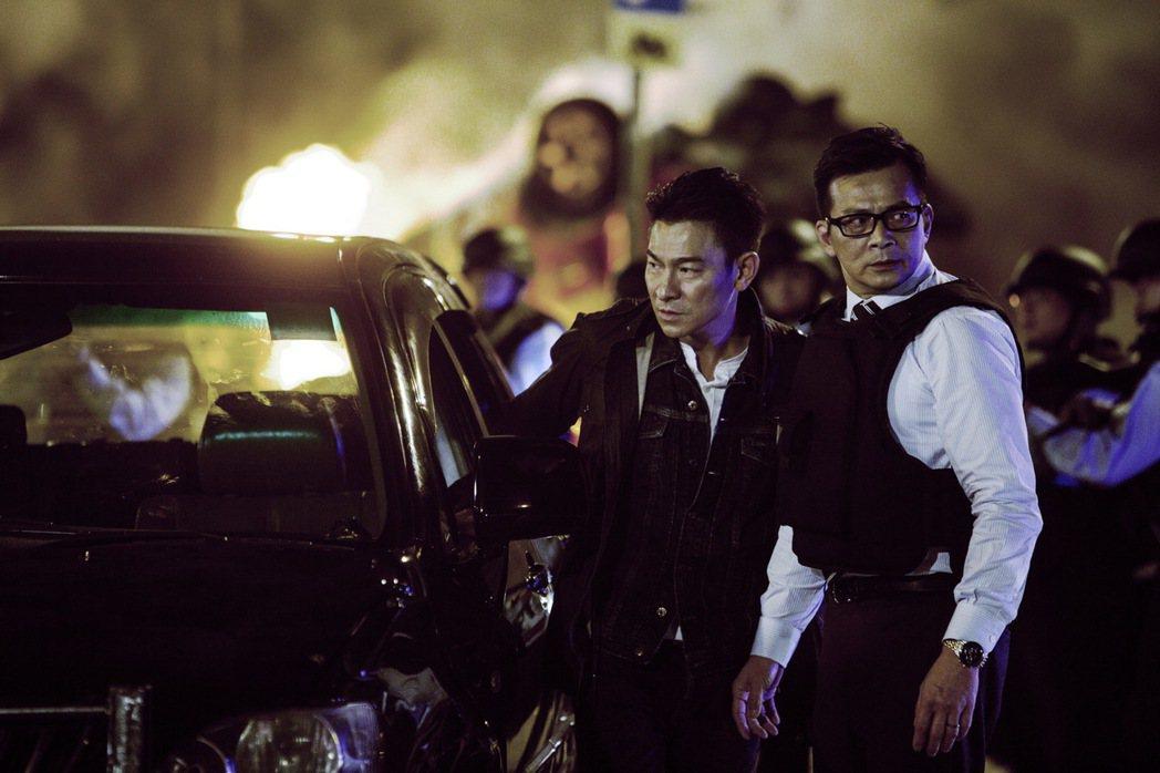 劉德華新片「拆彈專家」。圖/博納影業提供