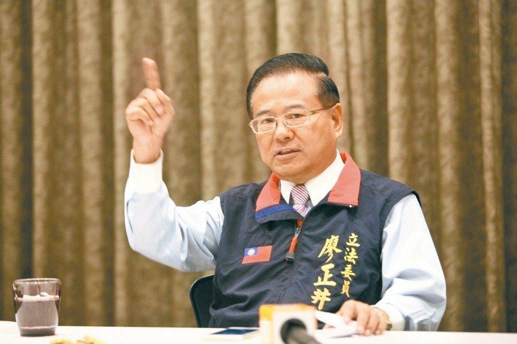 綠委要求請辭 廖正井:我不是立委要求辭就辭的