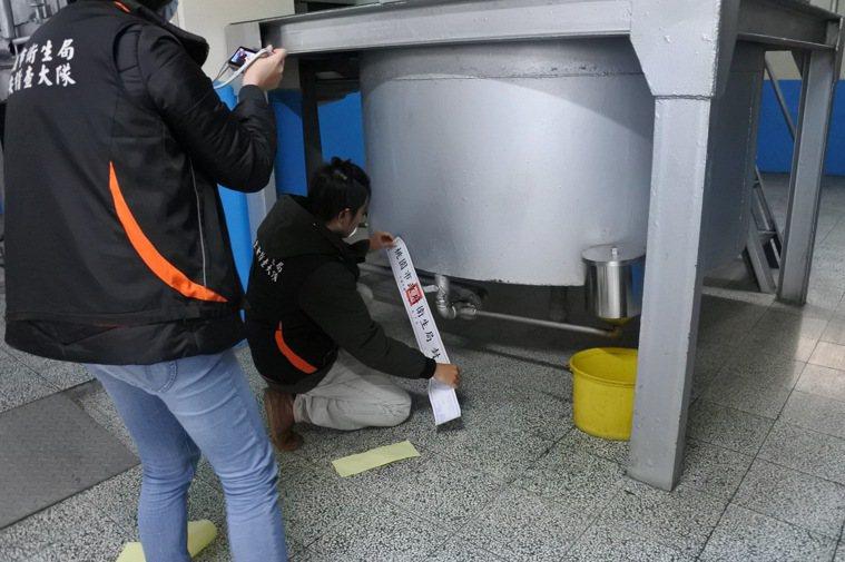 乳瑪琳驚傳使用過期回收奶油,遭勒令下架回收。圖/桃園市衛生局提供