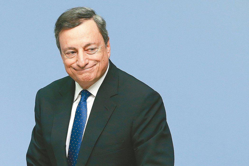 德拉基表示,整體通膨壓力仍弱,貨幣刺激有必要繼續實施。 路透