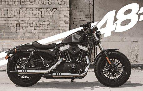 哈雷推出Sportster Forty-Eight暗黑騎士限定版 69.9萬元起