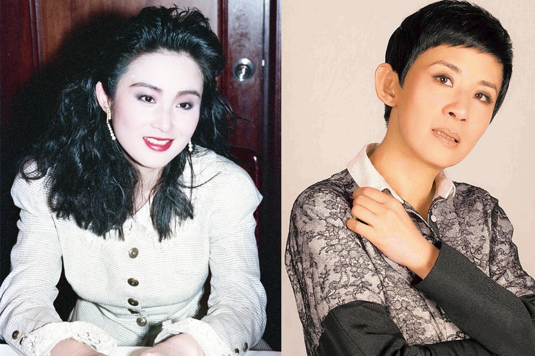 張敏9日PO出近照,有網友發現她與吳君如很相似。左圖為昔日張敏長髮模樣,右圖為吳