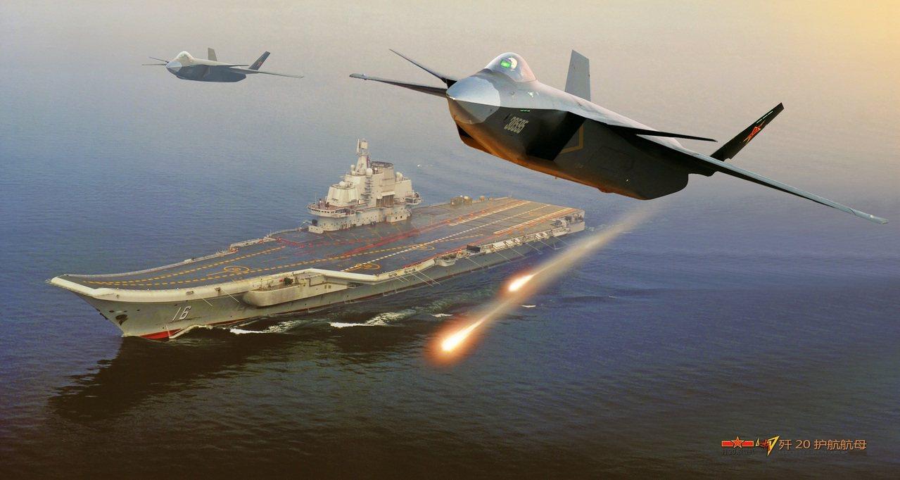 北京已有研發隱形戰機的潛力,殲20確實是台灣巨大的空防威脅。 (取自飛揚軍事網)