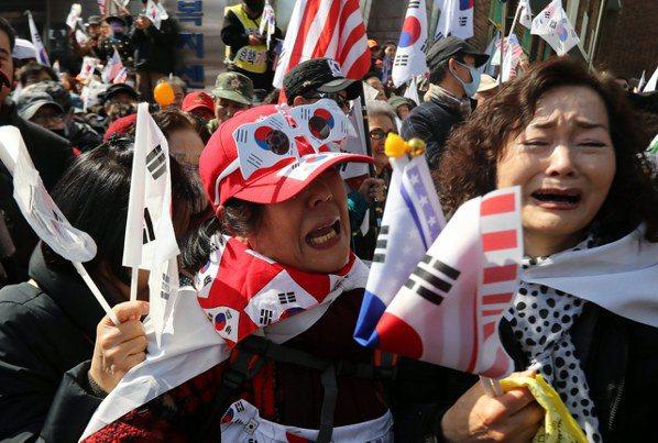 朴槿惠下台還不夠 韓反朴民眾要求逮捕
