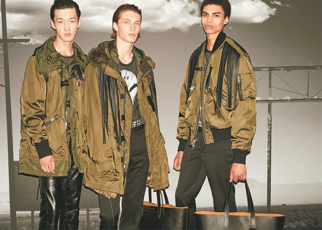 重新被詮釋的飛行員夾克在本季依舊受到消費者歡迎。 圖/Coach提供