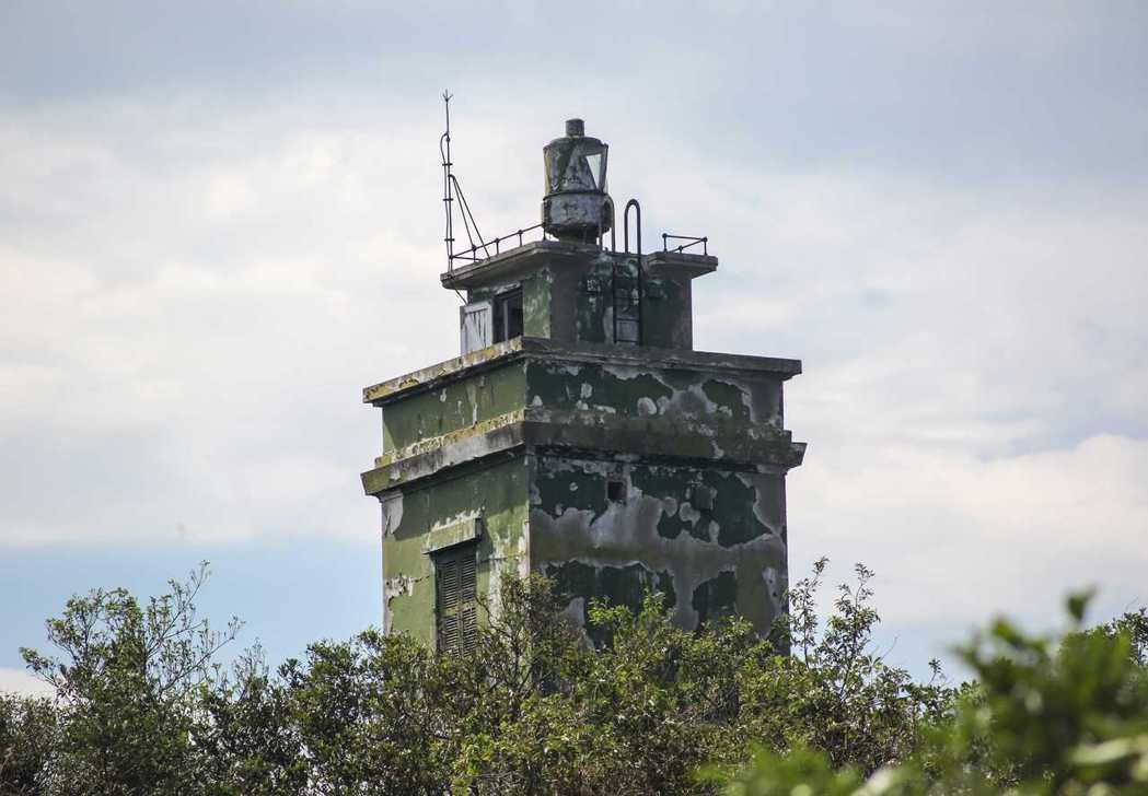 球子山燈塔是第一座由國人自行設計、施工的燈塔。 圖/報系資料照