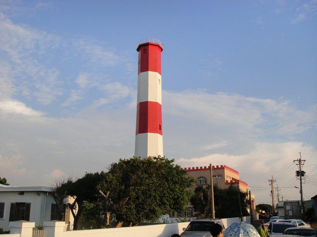 交通部發展燈塔觀光,全台唯一一座紅白相間、位於高美濕地旁的高美燈塔,預計今年開放...
