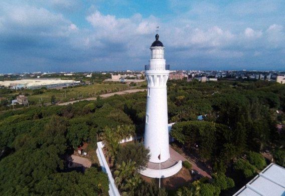 白沙岬燈塔。 圖/報系資料照