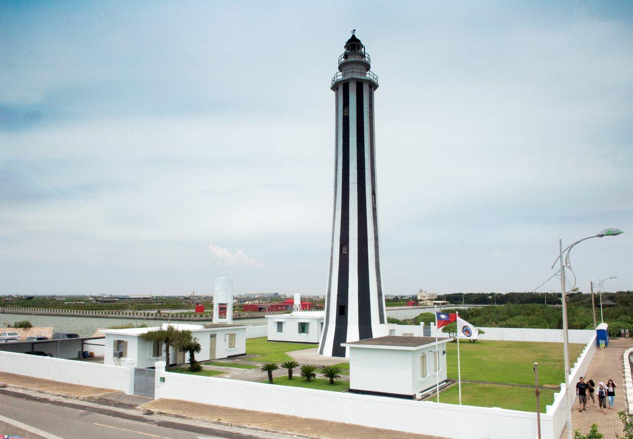 最年輕燈塔─芳苑燈塔。 圖/交通部航港局提供