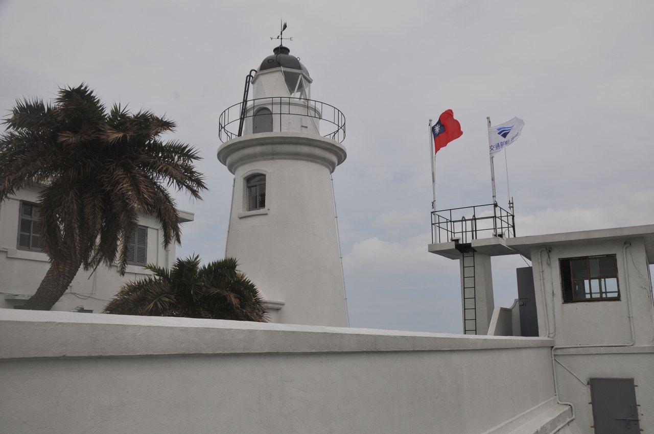 基隆燈塔目前為管制區,已有110年歷史,航港局計畫在今年評估開放民眾參觀。 記者...
