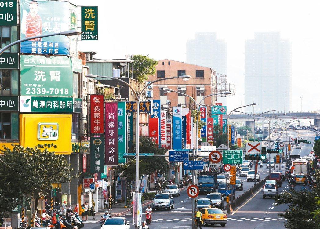 萬華區萬大路街道。 報系資料照