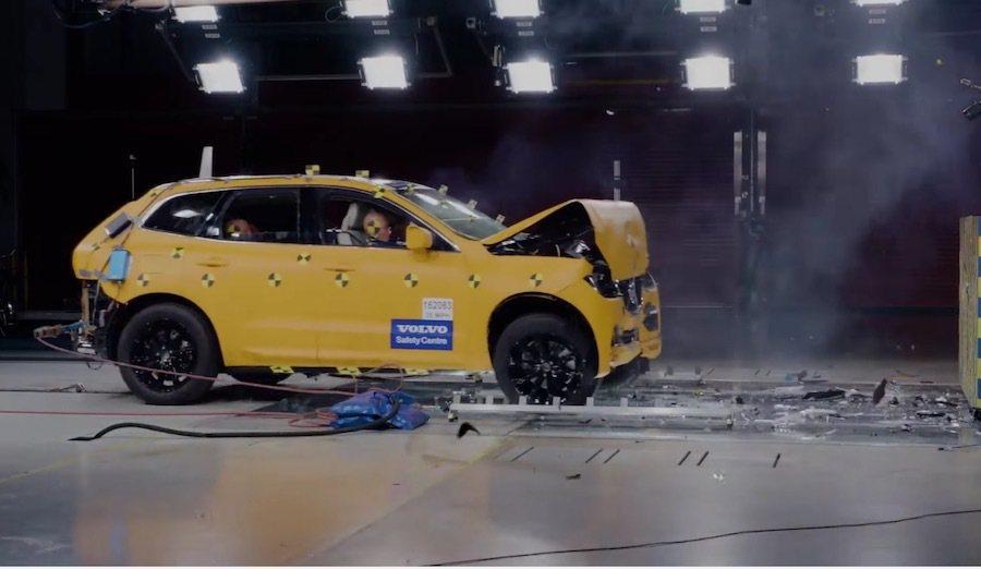 截自Volvo Safety影片